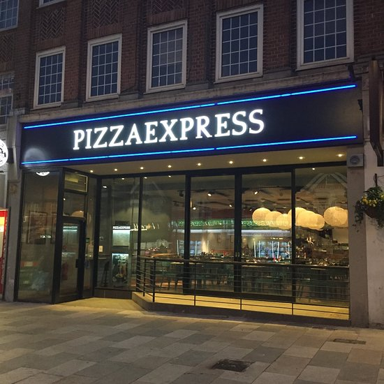 Pizza Express Sidcup Main Rd Menu Prices Restaurant