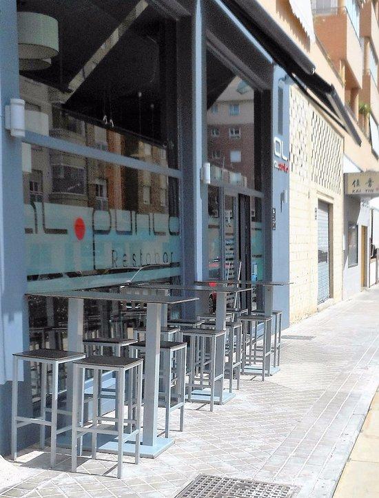 Al punto restobar almeria omd men om restauranger - Puerta europa almeria ...