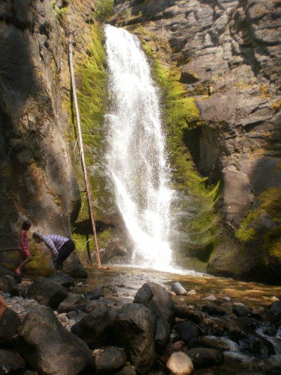 Tulip Creek falls.