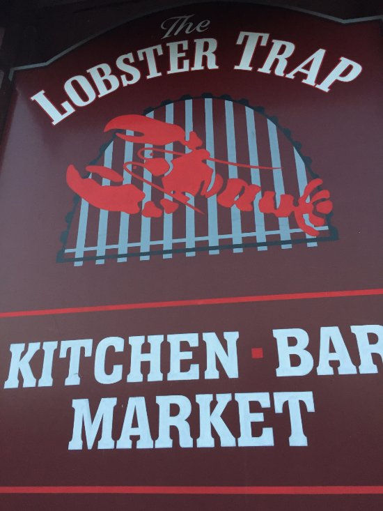 Lobster Trap Sign