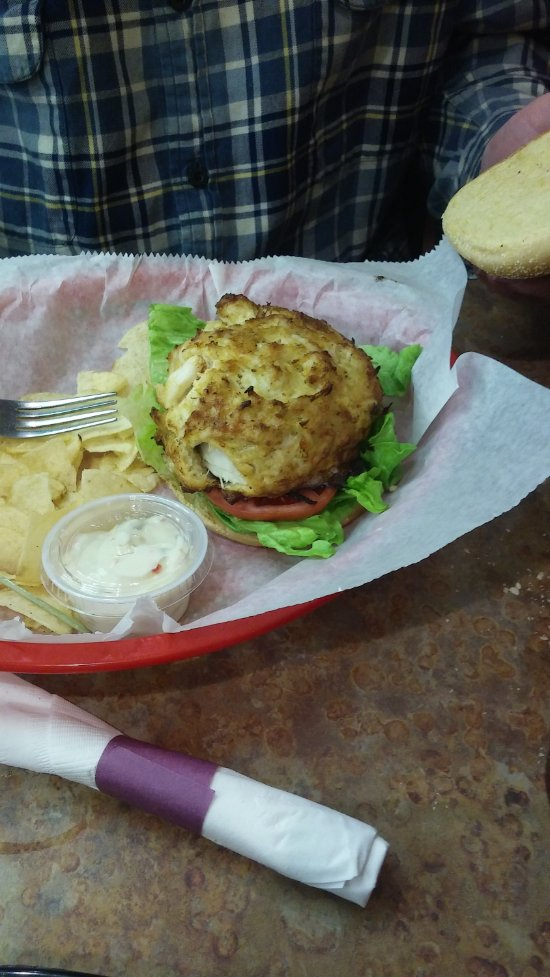 """AMAZING best ever crab cake & my fiance has had all on """"the best in Maryland"""" lists"""