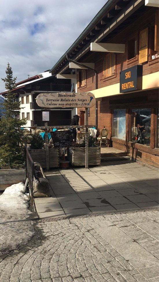 Verbier Restaurant Ouvert