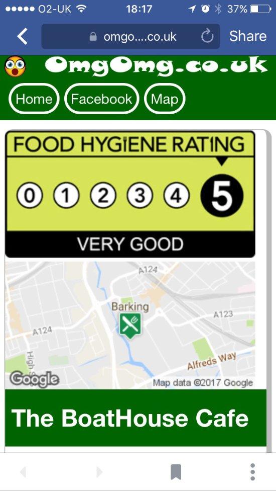 5* Food Hygiene Rating