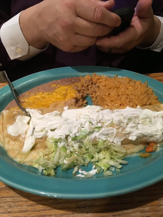Seafood Burrito My husband loved it