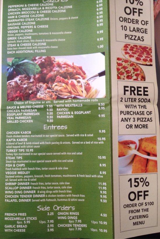 Boston Kitchen Pizza Chinatown