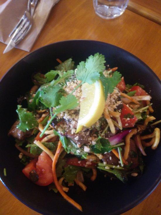 Thai Beef Salad - insanely good