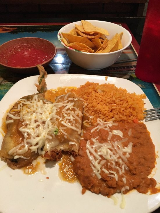 I never had a tamale relleno before today