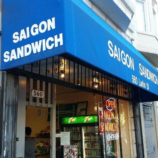 Trip Advisor San Francisco Hotel: Saigon Sandwich Shop, San Francisco