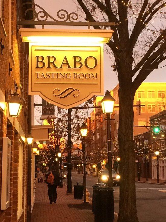 Brabo Tasting Room Menu