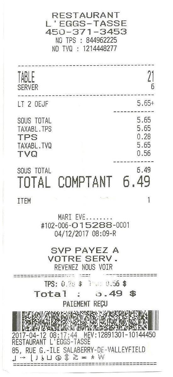 12 avril 2017 / Marie-Ève - $6.49