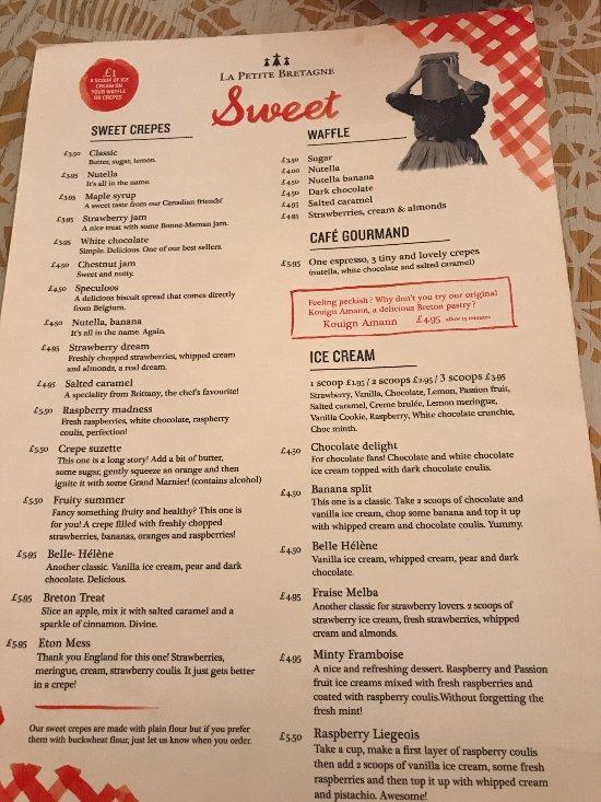 Restaurant La Petite Bretagne Clapham