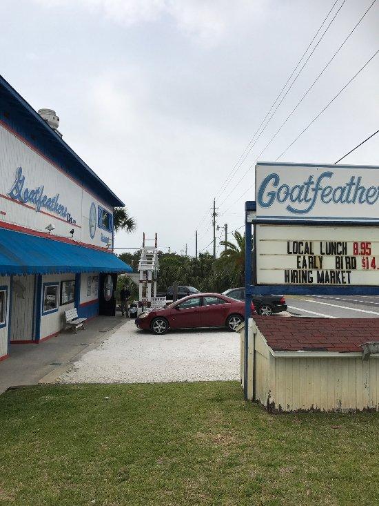 Goatfeathers Restaurant Reviews