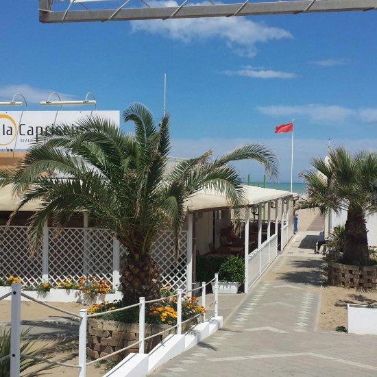 La Capricciosa Beach Bagno 57 Rimini Restaurant Reviews Photos