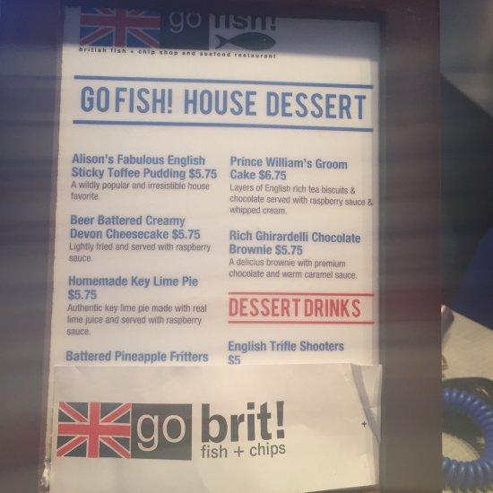 Go fish rehoboth beach menu prices restaurant for Go fish restaurant