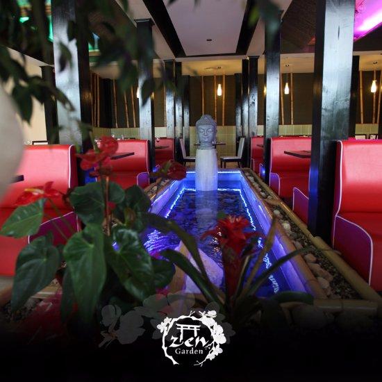Restaurant zen garden dans voiron avec cuisine japonaise for Salle a manger voiron