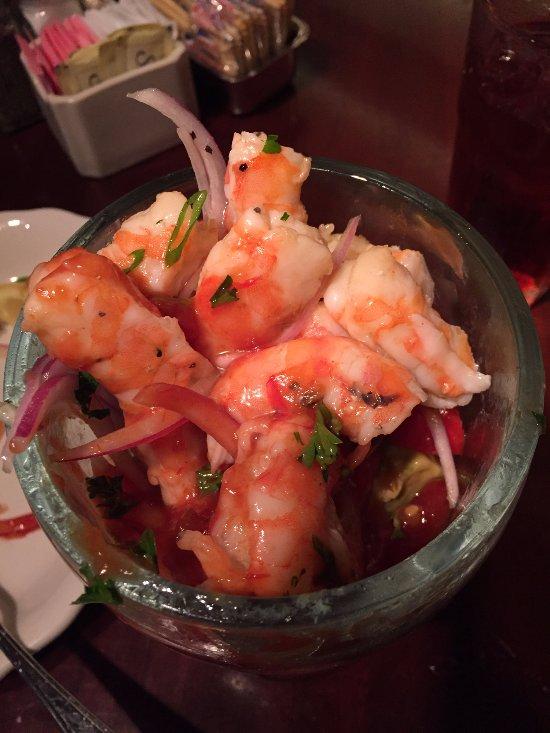 Their Amazing Shrimp Cocktail