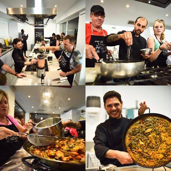 Taller andaluz de cocina sevilla spanien omd men for Taller andaluz de cocina