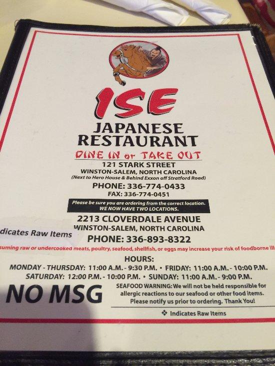 New Japanese Restaurant In Winston Salem