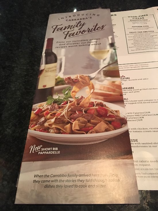 carrabba s italian grill  tampa 700 n dale mabry hwy menu  prices   restaurant reviews Carrabba's Italian Restaurant carrabba's italian grill menu with prices