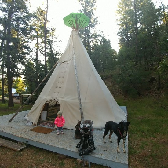 new product 4be21 bef1d FERGUSON TIPI CAMPING - Campground Reviews (Mayhill, NM ...