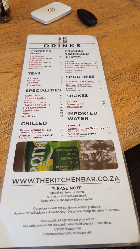 Kitchen Bar Johannesburg Restaurant Reviews Phone Number Photos Tripadvisor