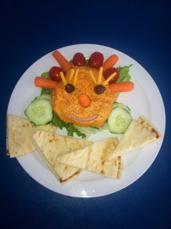 Happy Hummus Plate