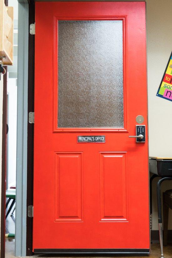 Principal's Office at Red Door Escapes!