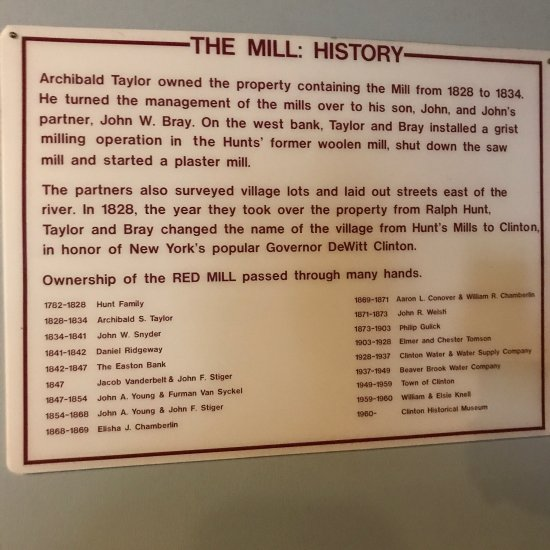 Kids Day Red Mill Museum Village