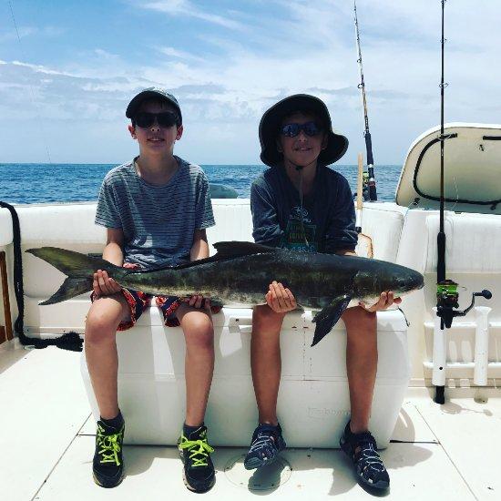 Reel dream fishing charters saint augustine beach fl for Deep sea fishing st augustine