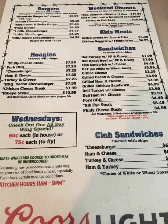 Mountain House Restaurant, McConnellsburg - Restaurant ...