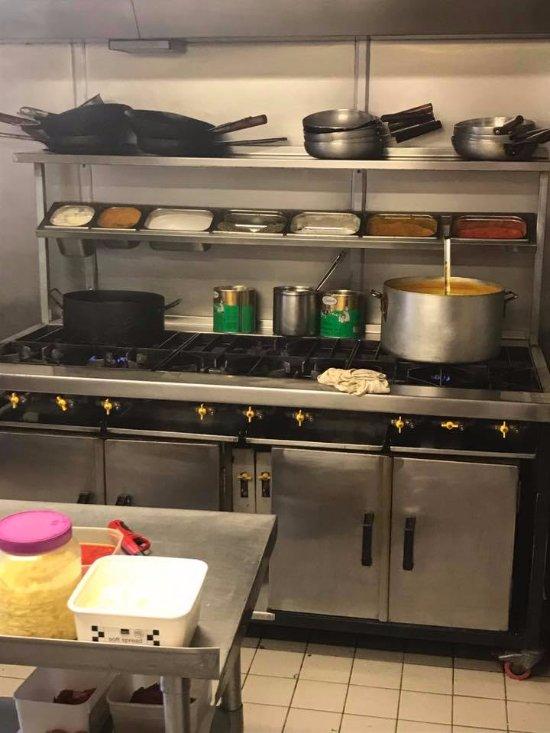 Inside Their 5 Star Kitchen Picture Of Flavour Mahal Gorleston On Sea Tripadvisor