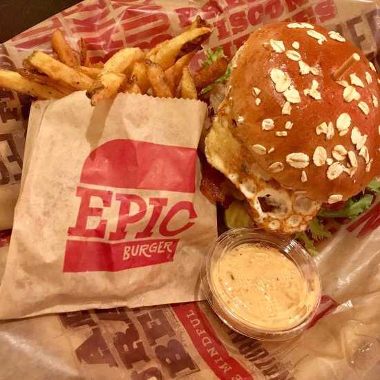 Epic burger chicago 517 s state st downtown the loop for American cuisine chicago