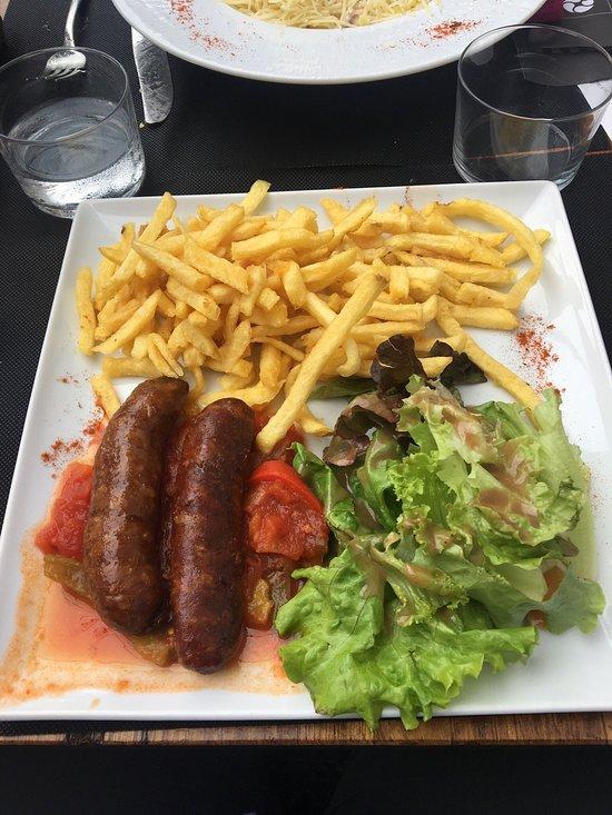 Restaurant Cafe De La Paix Saint Jean Pied De Port