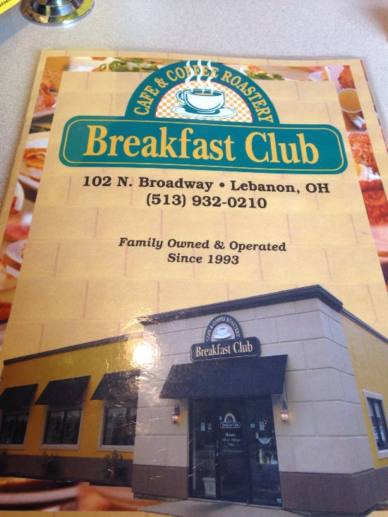 Breakfast Restaurants Lebanon Ohio