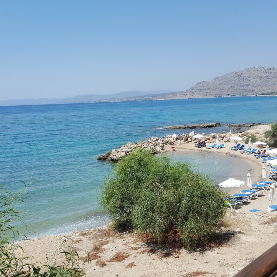 Kyma Beach Restaurant Pefkos Rhodes