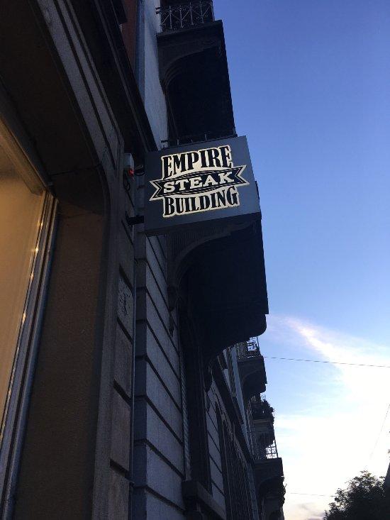 empire steak building stra burg restaurant bewertungen telefonnummer fotos tripadvisor. Black Bedroom Furniture Sets. Home Design Ideas