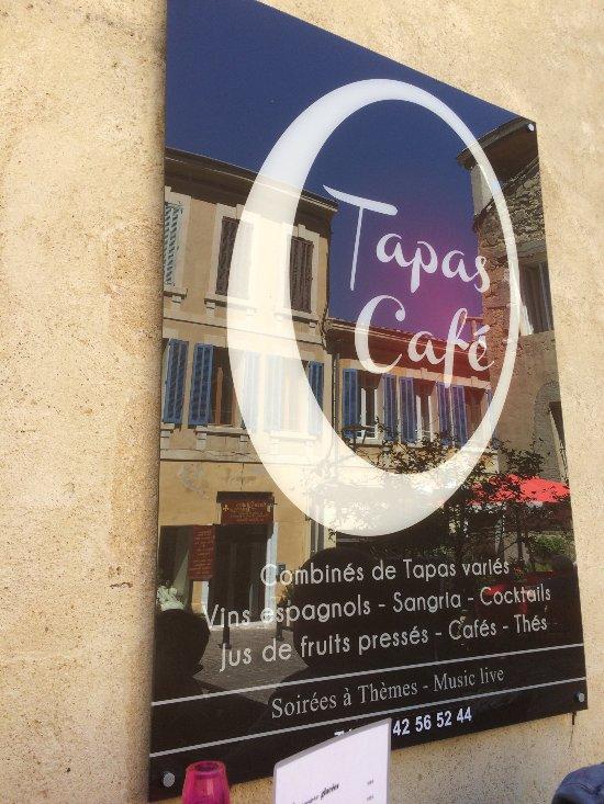 O 39 tapas caf salon de provence restaurant avis num ro - Caf salon de provence ...