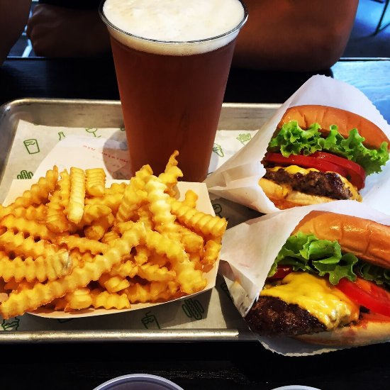 Restaurants shake shack in city of london westminster with for American cuisine in london