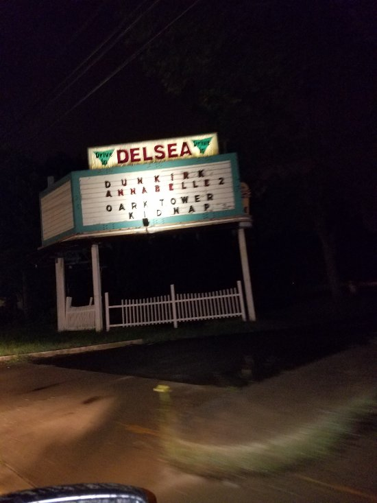 Entrance to Drive-In