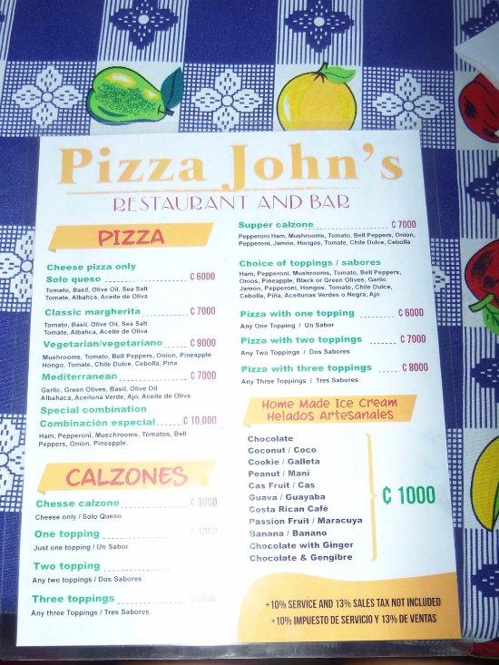 Pizza john 39 s jardin escondido el castillo fotos n mero for Pizza jardin precios
