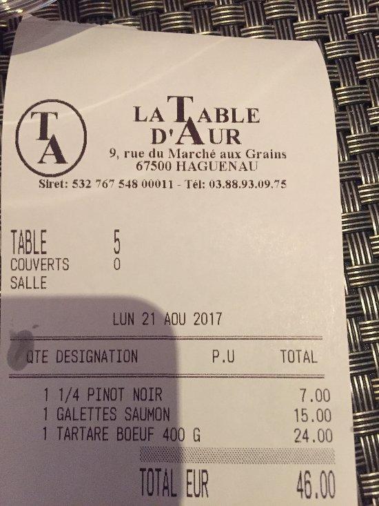 Restaurant Table D Aur Haguenau
