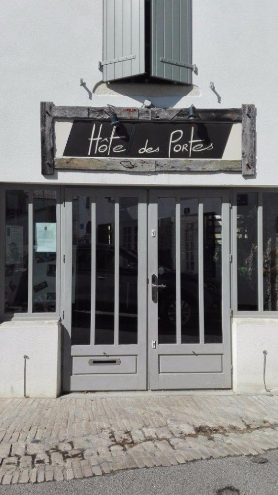 H te des portes ile de r hotel les portes en r - Chambre d hote les portes en re ...