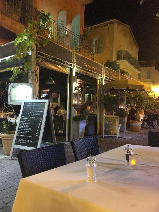 Restaurant La Derive Sainte Maxime