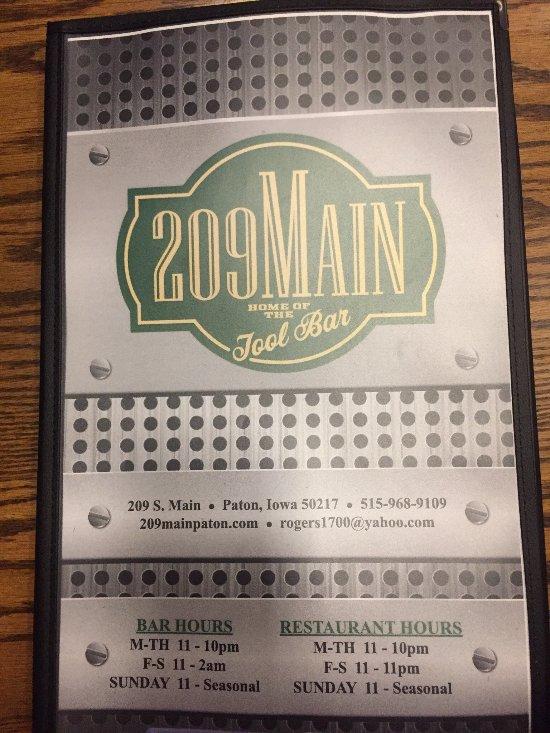 209 main, paton - restaurant reviews & photos - tripadvisor
