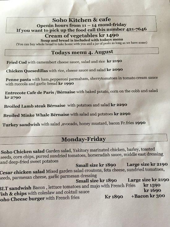 Soho kitchen & cafe, Keflavik - Restaurant Reviews, Phone Number ...