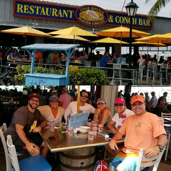 Conch Republic Seafood, Key West