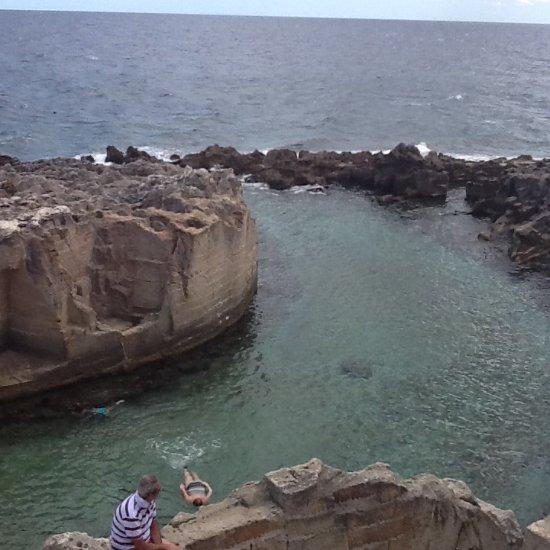 Piscina naturale di marina serra tricase aggiornato for Piscina naturale