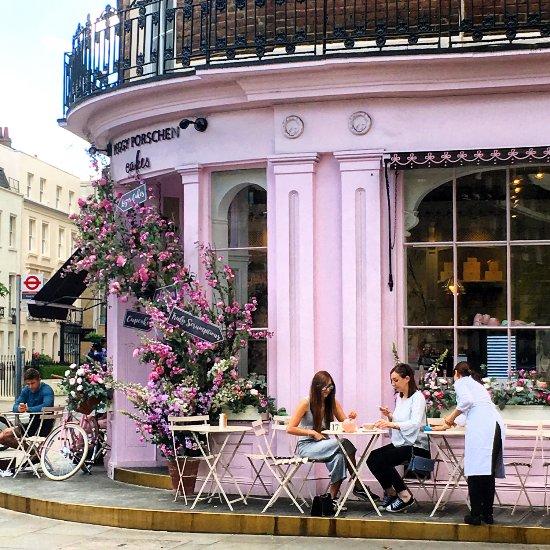 Peggy Porschen Cakes London Belgravia Restaurant