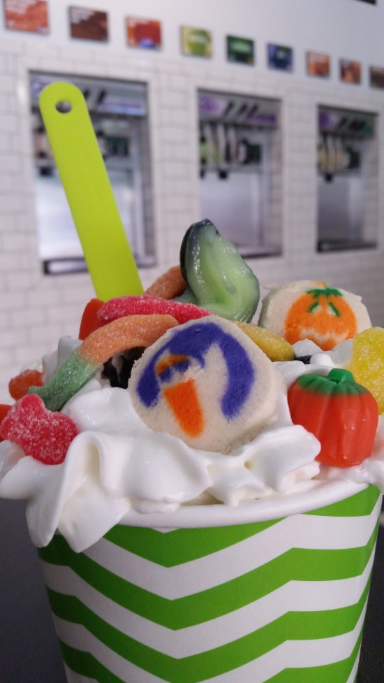 Frightfully yummy froyo!