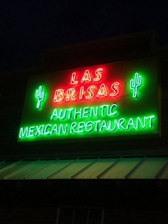 """The sign says """"Authentic"""" and it was."""